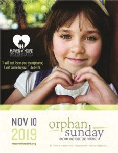 Orphan Sunday 2019 HOHI