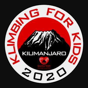 klimbing for kids, kilimanjaro, klimbing for kids logo