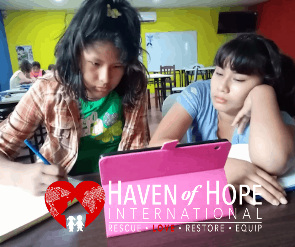 Virtual School in Haven of Hope Bolivia