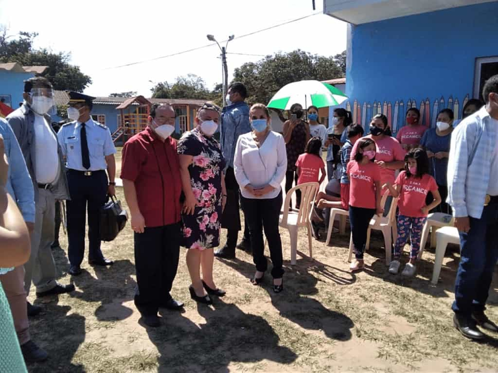 Interim President of the Plurinational State of Bolivia Visits Orphanage