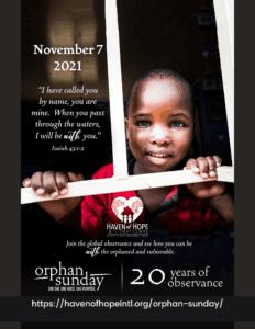 Orphan Sunday 2021